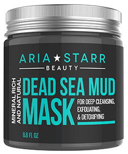 Aria Starr Dead Sea Mud Mask For Deep Cleansing