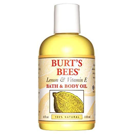 Burt's Bees Lemon & Vitamin E Bath Oil