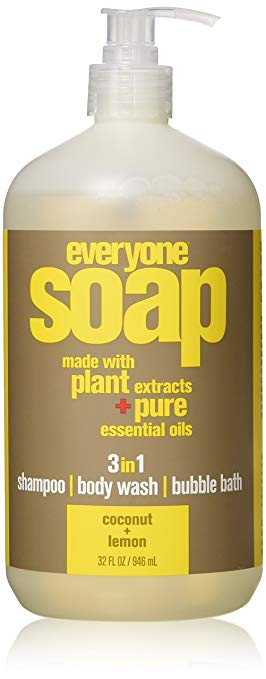Everyone soap with plant extracts and pure essential oils